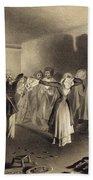 Dancing Party At Kagha-choura Hand Towel