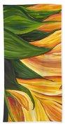 Dancing Sunflower Bath Towel
