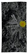 Dandelion Flower Bath Towel