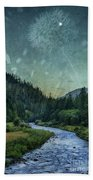 Dandelion Moon Bath Towel