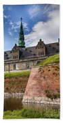 Danish Castle Kronborg Bath Towel