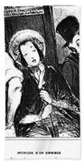 Daumier Omnibus, 1841 Bath Towel