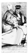Daumier: Republican, 1834 Bath Towel