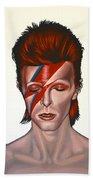 David Bowie Aladdin Sane Hand Towel