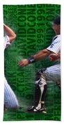 David Cone Yankees Perfect Game 1999 Zoom Bath Towel