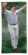 David Wells Yankees Perfect Game 1998 Bath Towel