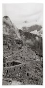 Dawn Over Machu Picchu Bath Towel