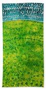 Daybreak Original Painting Bath Towel