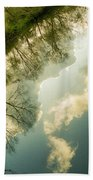 Daydreaming On The Canal Bath Towel