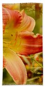 Daylily Memories Bath Towel