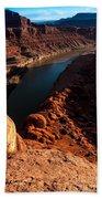 Dead Horse Point Colorado River Bend Bath Towel