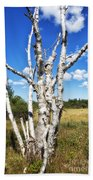 Dead Trees Bath Towel