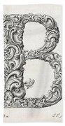 Decorative Letter Type B 1650 Bath Towel