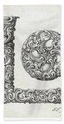 Decorative Letter Type L 1650 Bath Towel