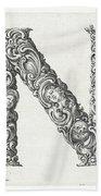 Decorative Letter Type N 1650 Bath Towel