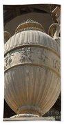 Decorative Urn - Palace Of Fine Arts Sf Bath Towel