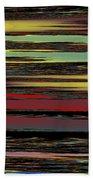 Deep Color Field Bath Towel