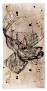 Deer 4 Bath Towel