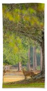Deer Crossing Bath Towel