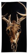 Deer Skull Bath Towel