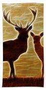 Deers Lookout Bath Towel