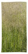 Delicate Tall Grasses Bath Towel