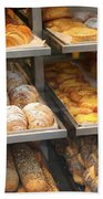 Delicious Pastries In Brussels Bath Towel