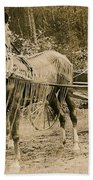 Delivering The Mail 1907 Bath Towel