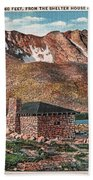 Denver Mountain Parks Antique Post Cards Bath Towel