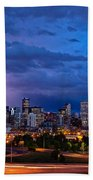 Denver Skyline Hand Towel