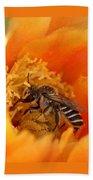 Desert Bee Bath Towel