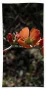 Desert Globemallow Bath Towel