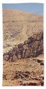 Desert Of Wadi Musa Bath Towel