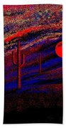 Desert Sunset Bath Towel