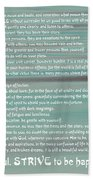 Desiderata 15 Bath Towel