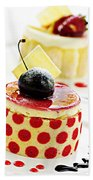 Desserts Bath Towel