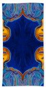 Destiny Unfolding Into An Abstract Pattern Bath Towel