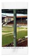 Detroit - Navin Field - Detroit Tigers - Michigan And Trumbull Avenues - 1914 Bath Towel