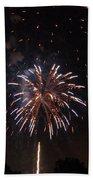 Detroit Area Fireworks -5 Bath Towel