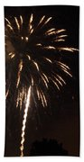Detroit Area Fireworks -6 Bath Towel