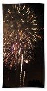 Detroit Area Fireworks -7 Bath Towel