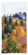 Devil's Courthouse In The Fall Bath Towel