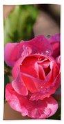 Dew Rose Bath Towel