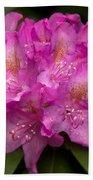 Dewy Rhododendron Bath Towel