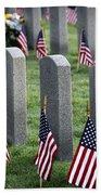 Dfw National Cemetery Bath Towel