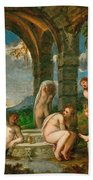 Diana And Actaeon Bath Towel