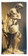Diana Goddess Of The Hunt Bath Towel