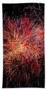 Diffuse Fireworks  Bath Towel