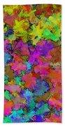 Digiral Abstract Colors Rich Bath Towel