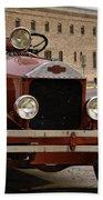 Dillon Montana Vintage Fire Truck Bath Towel